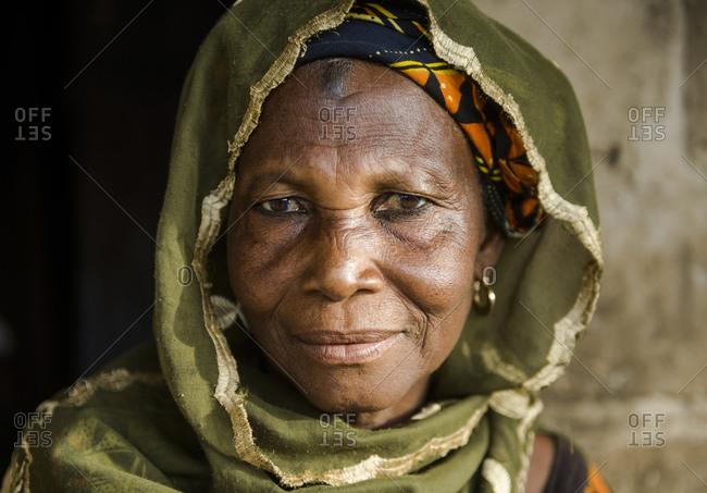 February 9, 2016: Portraits of Ivorian people, Cote D'Ivore (Ivory Coast)