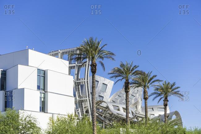 June 27, 2017: Modern architecture, Cleveland Clinic, Las Vegas, Nevada, USA