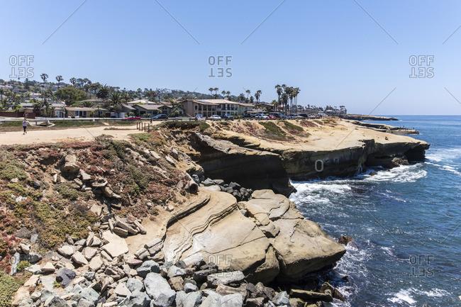 La Jolla dream beach, La Jolla Beach, San Diego, California, USA