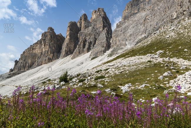 Three Peaks, Three Peaks Nature Park, Sexten Dolomites, South Tyrol, Italy