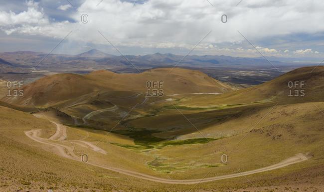 Abra del Acay Pass, at 4,895 meters above sea level. Salta, Argentina