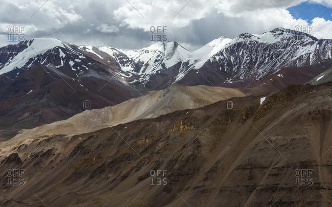 Agua Negra Pass, 4753 m above sea level, Andes, border Chile Argentina