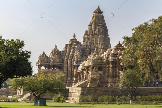 February 19, 2016: Jagadambi Temple, Khajuraho Temple District, Khajuraho, Madhya Pradesh, India