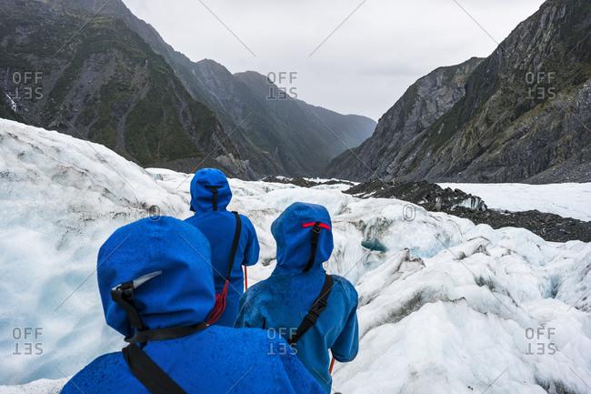 March 28, 2016: Ice hike on the Franz Josef Glacier, New Zealand