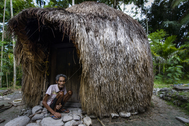 May 22, 2013: Ume Kebubu, the typical hut of West Timor, Indonesia