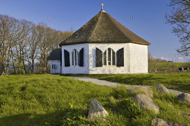 Chapel from the fishing village of Vitt, Kap Arkona, Rugen, Mecklenburg-West Pomerania, Germany