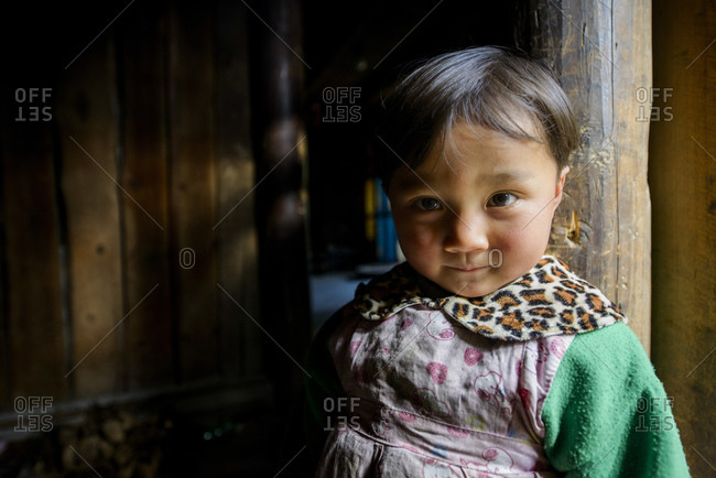 December 14, 2012: Girls of the southern ethnic minorities in Guizhou Province, China