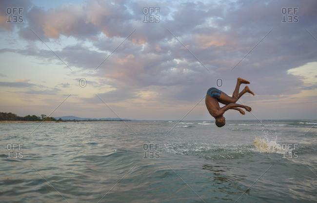 November 26, 2014: Daily life on the shores of Lake Malawi, Malawi, Africa