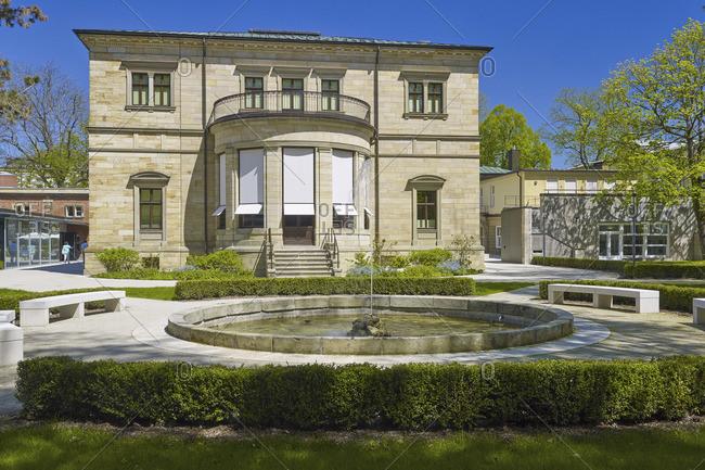May 7, 2016: Villa Wahnfried, Richard Wagner's residence in Bayreuth, Upper Franconia, Bavaria, Germany