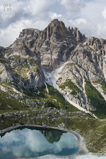 Paternkofel circuit, Crodon di San Candido, Drei Zinnen National Park, Dolomites, South Tyrol, Italy