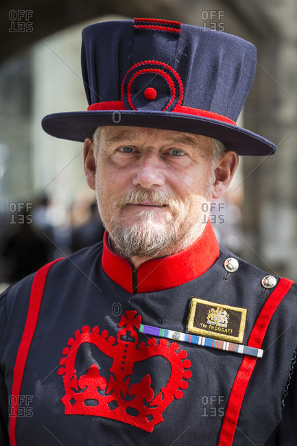 September 11, 2015: The Yeoman Warders, colloquially also Beefeater, orderly of the Tower of London, Great Britain