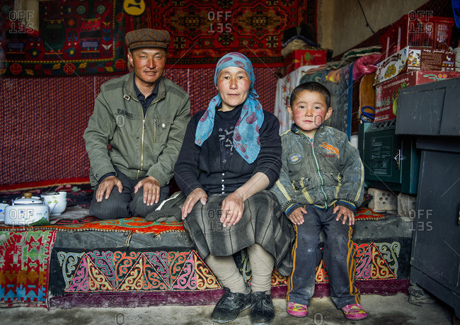 May 17, 2010: Uighur houses are very basic and have only one room that servers as kitchen and room. Families spend their spare time sitting around, sipping tea together.