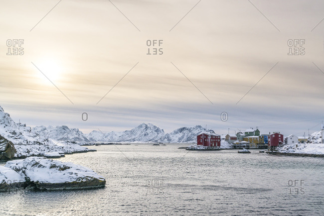 Nyksund is a fishing village on Vesteralen with around 15 inhabitants. The village has been abandoned several times in the past when fishermen no longer saw an adequate livelihood. It has been revived for several years.