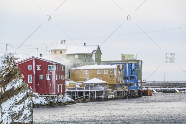 February 23, 2015: Nyksund is a fishing village on Vesteralen with around 15 inhabitants. The village has been abandoned several times in the past when fishermen no longer saw an adequate livelihood. It has been revived for several years.