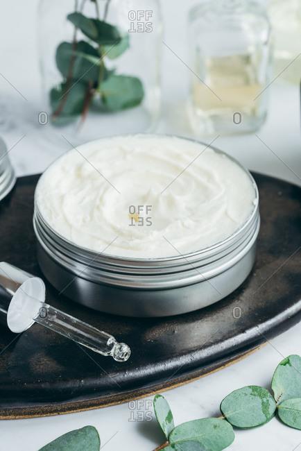 Handmade rich body butter with shea butter