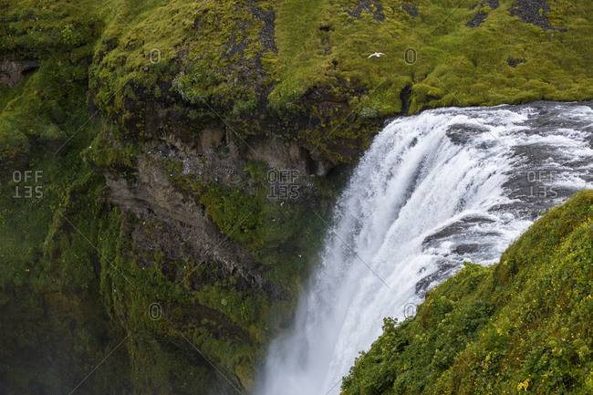 Skogafoss waterfall, Iceland - Offset Collection