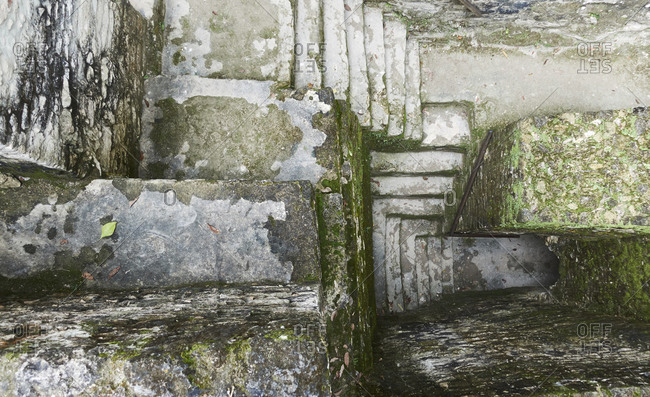 Belize, View of ancient ruins