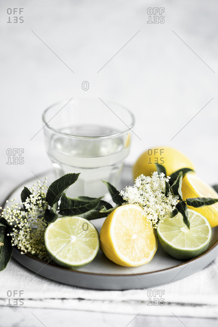 Home Brew Elderflower Cordial With Lemon And Lime