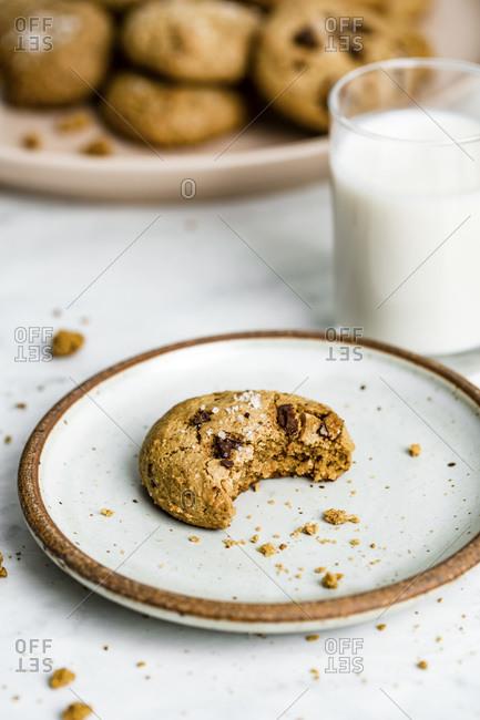 Almond Butter Cookies studio shot