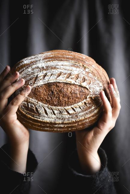 Gluten Free Sourdough studio shot