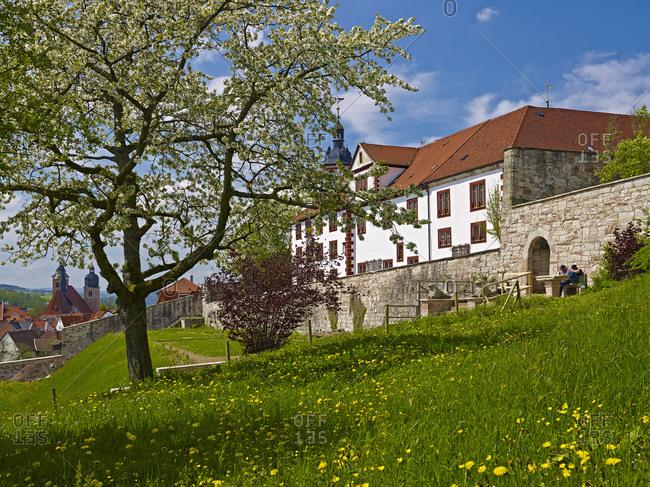 Wilhelmsburg Castle in Schmalkalden, Thuringia, Germany,