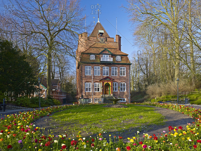 April 19, 2013: Ritzebuttel Castle in Cuxhaven, Lower Saxony. Germany,