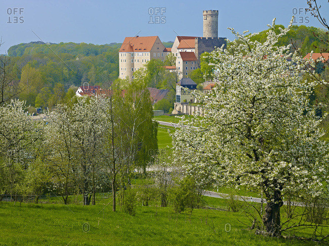 Gnandstein Castle, Leipzig County, Saxony, Germany,