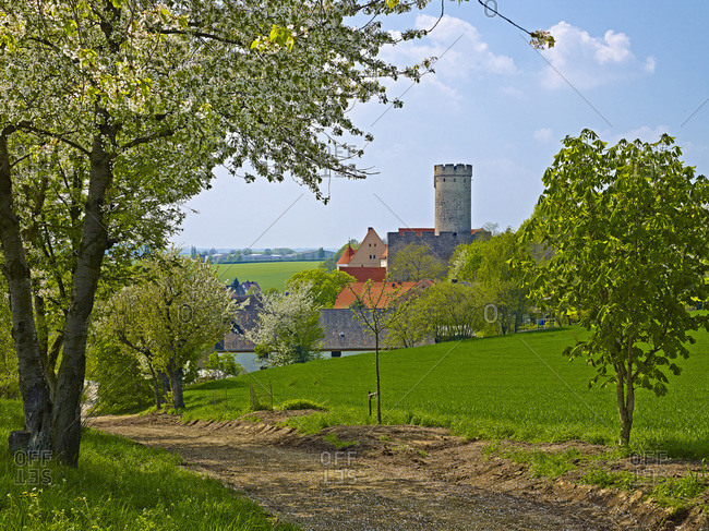 Gnandstein Castle, Leipzig County, Saxony, Germany,