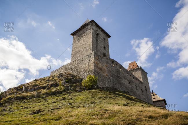 Gothic Kasperk Castle, Okres Klatovy District, Bohemian Forest, Czech Republic