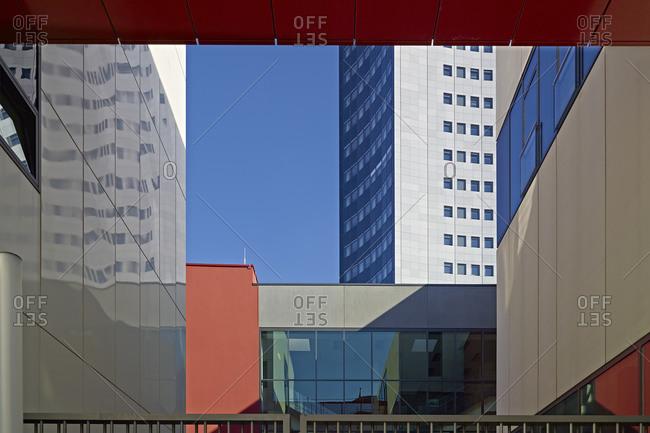 September 29, 2013: Detail University of Leipzig, Saxony, Germany
