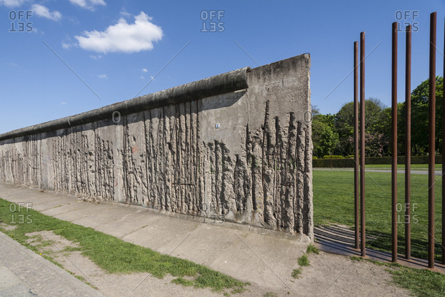 Berlin Wall Memorial, Bernauer Strasse, Wedding Border, Berlin Mitte, Germany, Europe