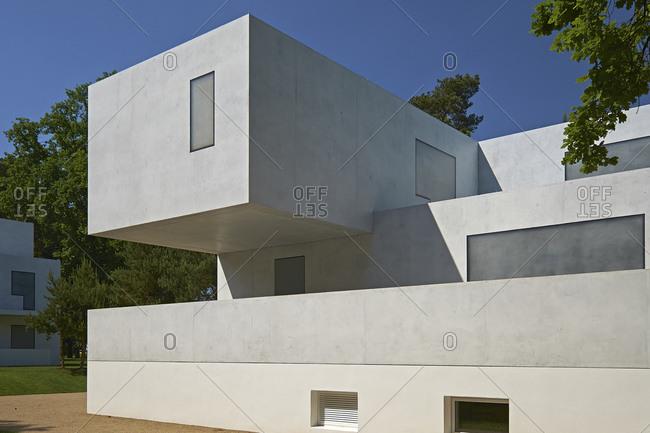 May 22, 2014: Gropius House, Masters' Houses in Dessau-Rosslau, Saxony-Anhalt, Germany, Europe
