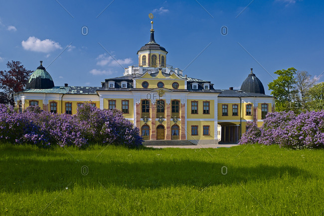 April 30, 2014: Belvedere Palace near Weimar, Thuringia, Germany, Europe