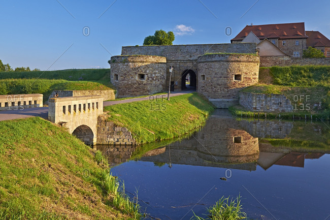 May 24, 2014: Wasserburg Heldrungen, Thuringia, Germany, Europe