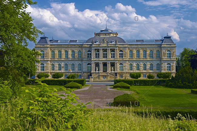 June 1, 2014: Ducal Museum in Gotha, Thuringia, Germany, Europe
