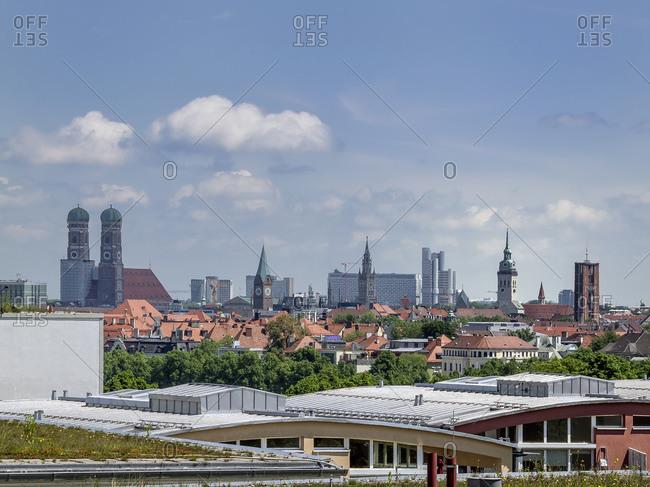 Skyline Munich, Bavaria, Germany, Europe
