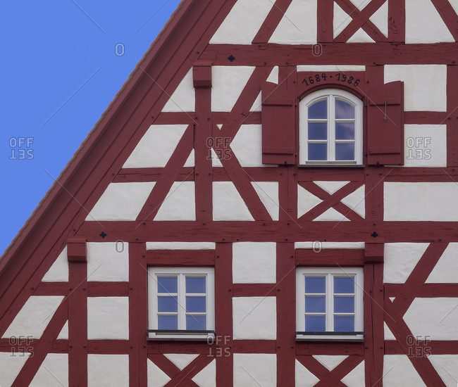 Raiffeisenbank Altdorf, Middle Franconia, Bavaria, Germany, Europe