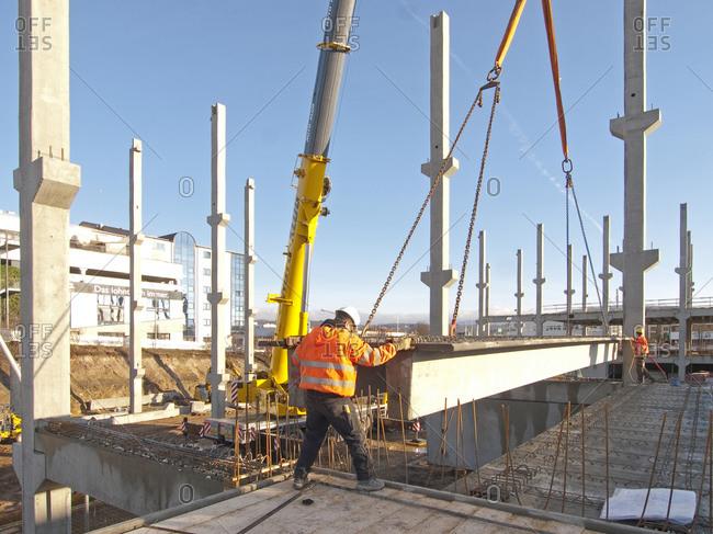 December 20, 2012: Building site