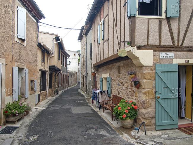 October 7, 2012: Alet-les-Bains, Southern France, France, Europe