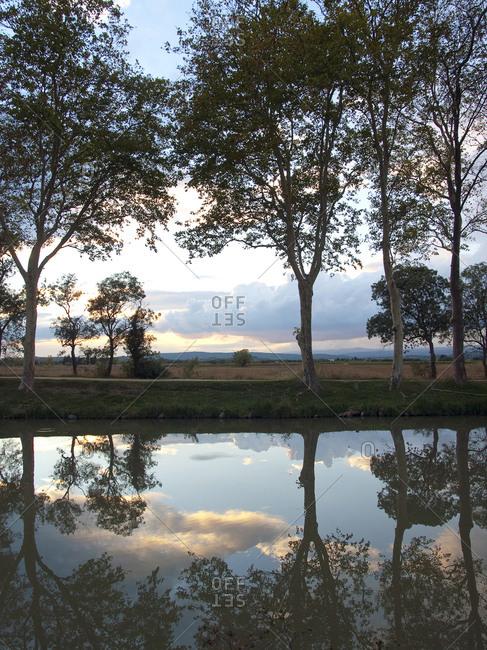 Le Somail, Canal du Midi, Languedoc-Roussillon, France, Europe