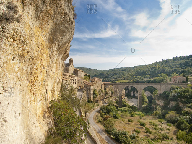 Minerve, Languedoc-Roussillon, South of France, France, Europe