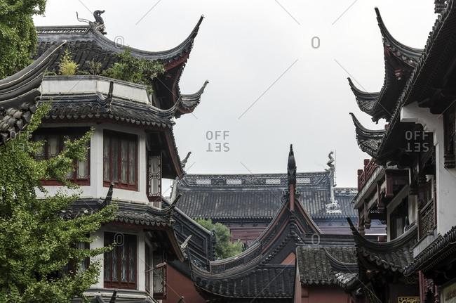 Yuyuan Garden, Market, Puxi, Shanghai, China, Asia
