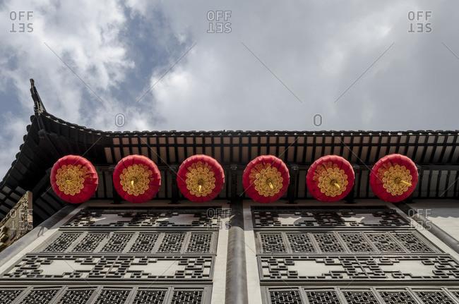Facade, Yuyuan Garden, Puxi, Shanghai, China, Asia