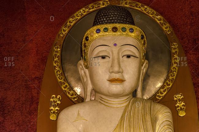 Buddha, sculpture, Jing'an temple, Shanghai, China, Asia