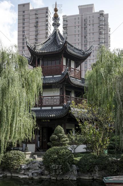 Confucius Temple, Puxi, Shanghai, China, Asia