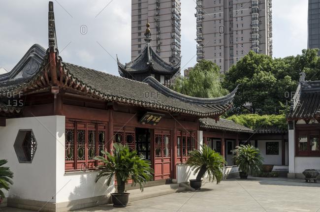 October 23, 2013: Confucius Temple, Puxi, Shanghai, China, Asia