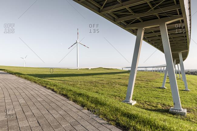 Horizontweg, Energieberg, Georgswerder, Hamburg, Germany