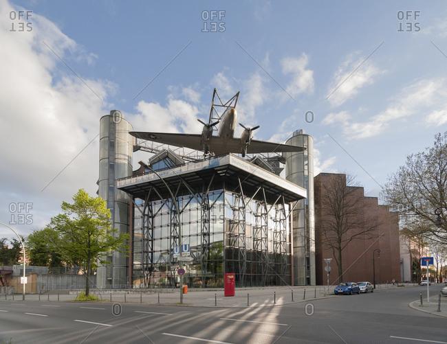 April 18, 2014: German Museum of Technology, Trebbiner Strasse, Kreuzberg, Berlin, Germany, Europe