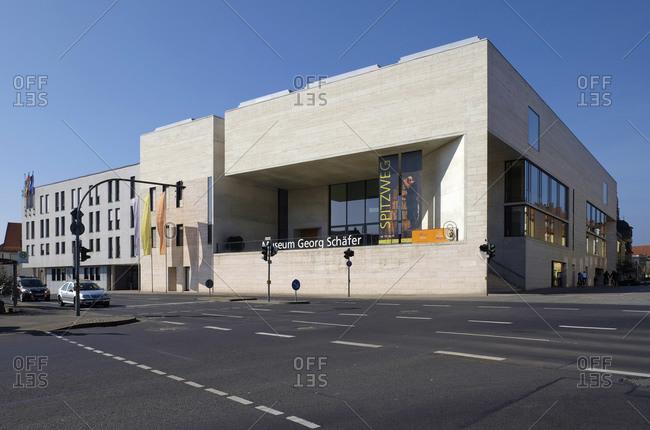 March 9, 2014: Georg Schafer Museum in Schweinfurt, Lower Franconia, Bavaria, Germany, Europe