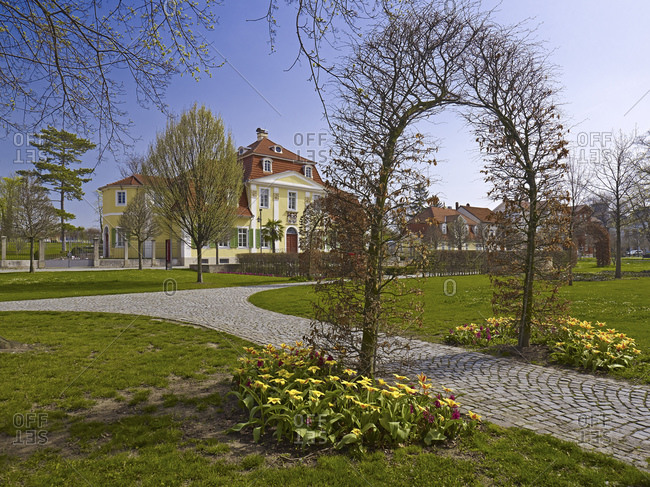 April 3, 2014: Friederikenschlosschen in Bad Langensalza, Thuringia, Germany, Europe